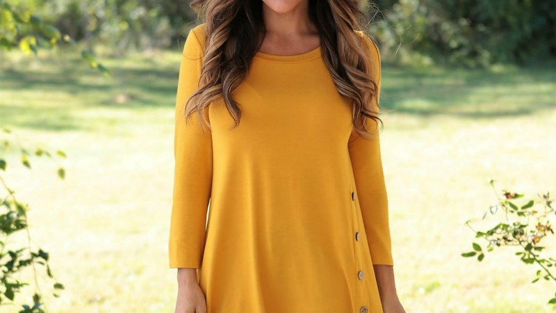 Favorite Fall Button Tunic | S-3XL – Was $39.99 – Ships for $22.98!