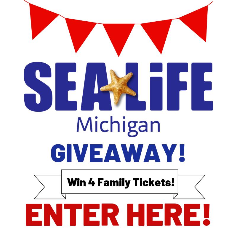 SEA LIFE Aquarium (Michigan) 4 Family Tickets Giveaway! Ends 11/06/2018