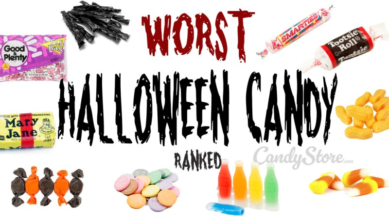 The WORST #HalloweenCandy, and the Best Too