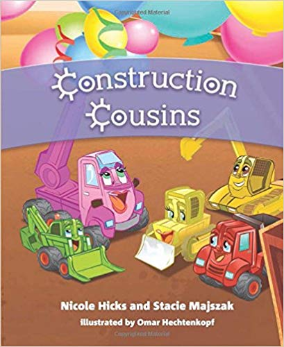 Meet Michigan Sister Authors, Nicole Hicks and Stacie Majszak in Their New Book: #ConstructionCousins