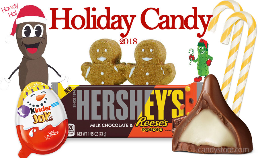 All The New Christmas Candy For 2018