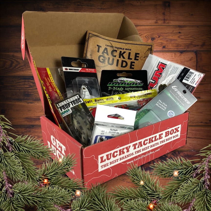 Give the Gift of Fishing ALL YEAR LONG with Lucky Tackle Box