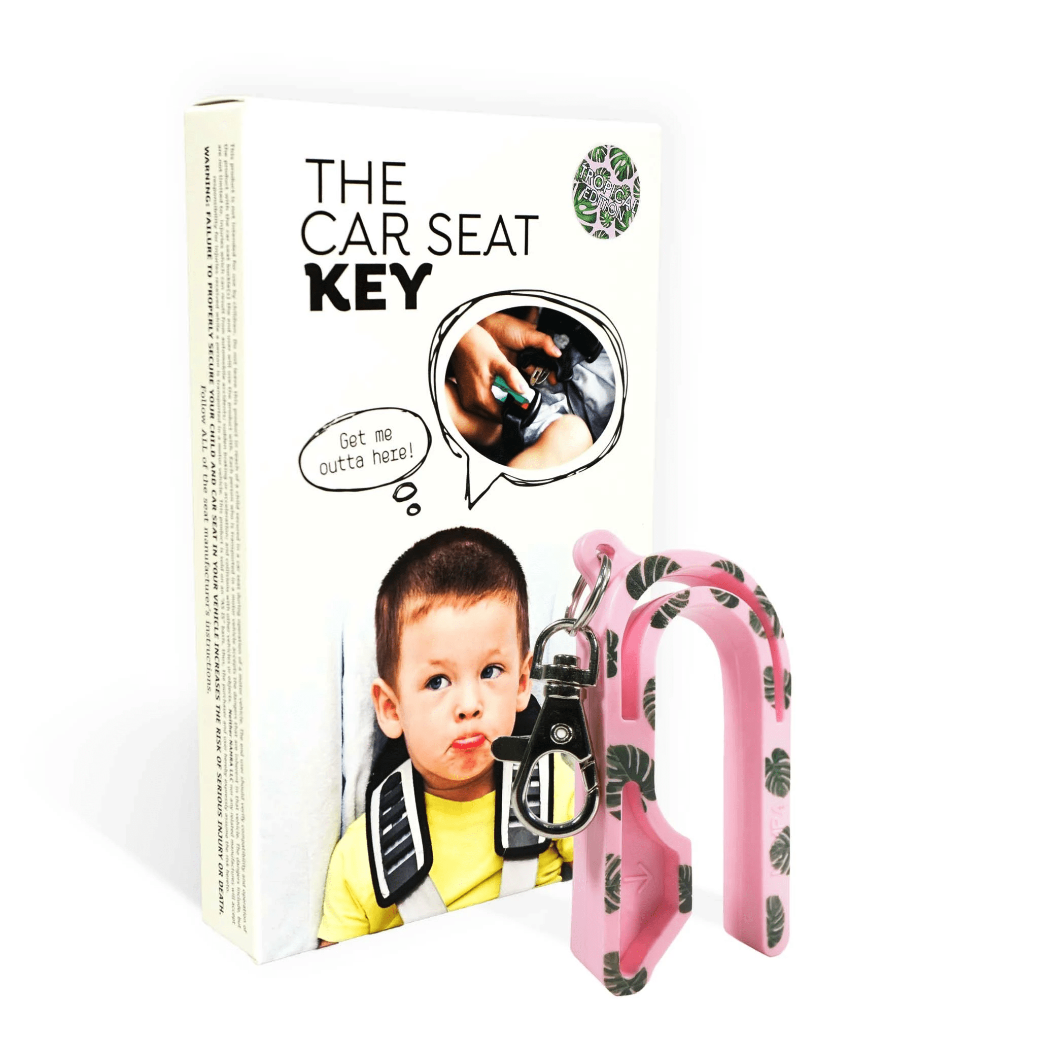The Car Seat Key Launches Tropical Print Edition
