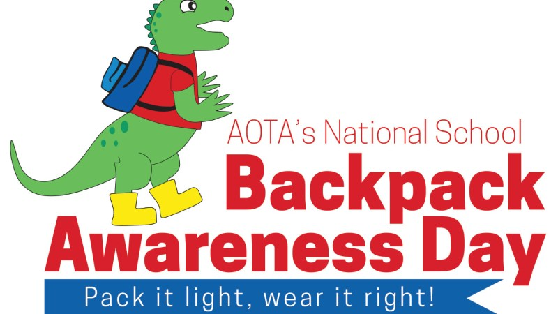 How Heavy Is Your Child's Backpack? The AOTA Recommends Students Carry No More Than 10% of Their Body Weight