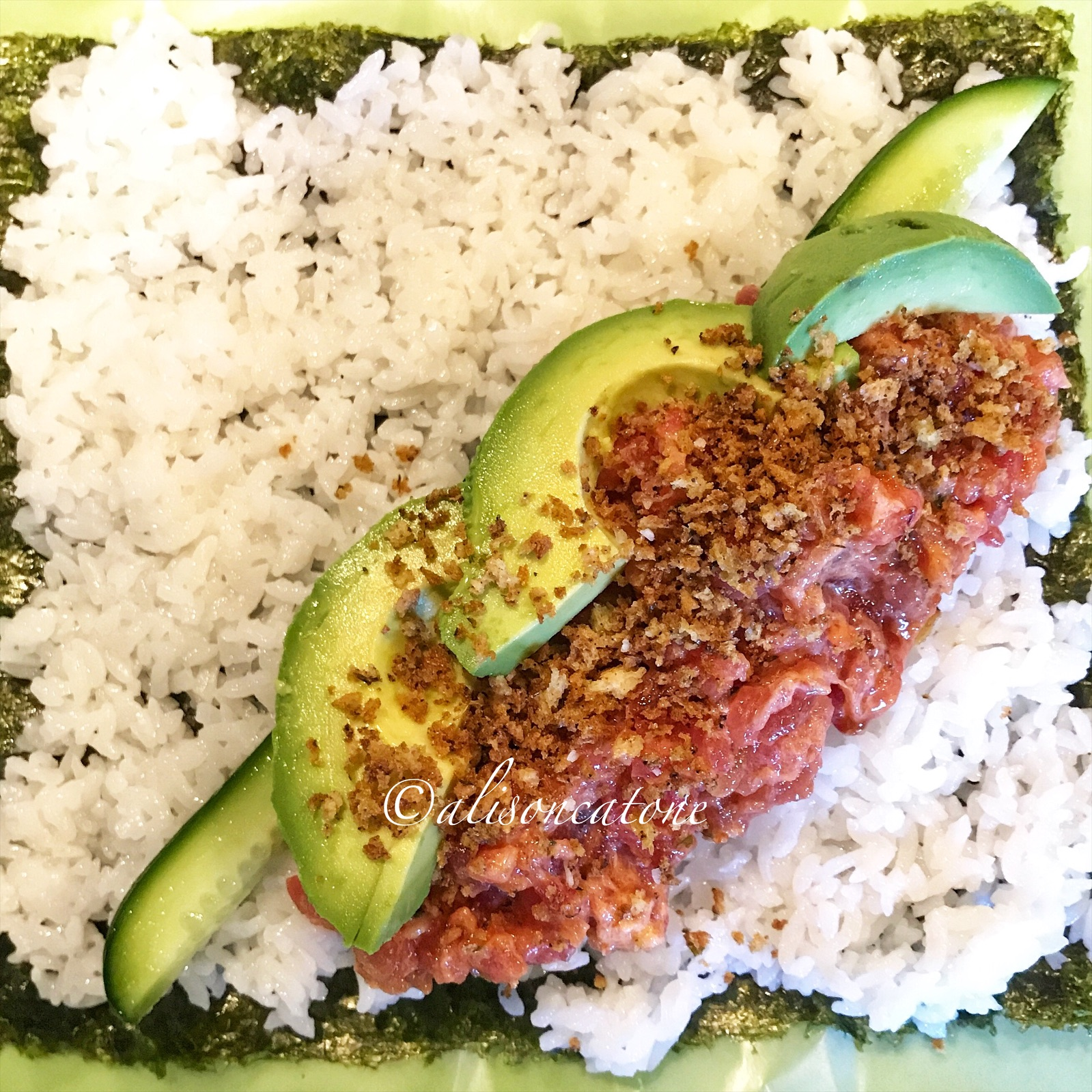 Spicy Tuna Sushi Burrito Recipe