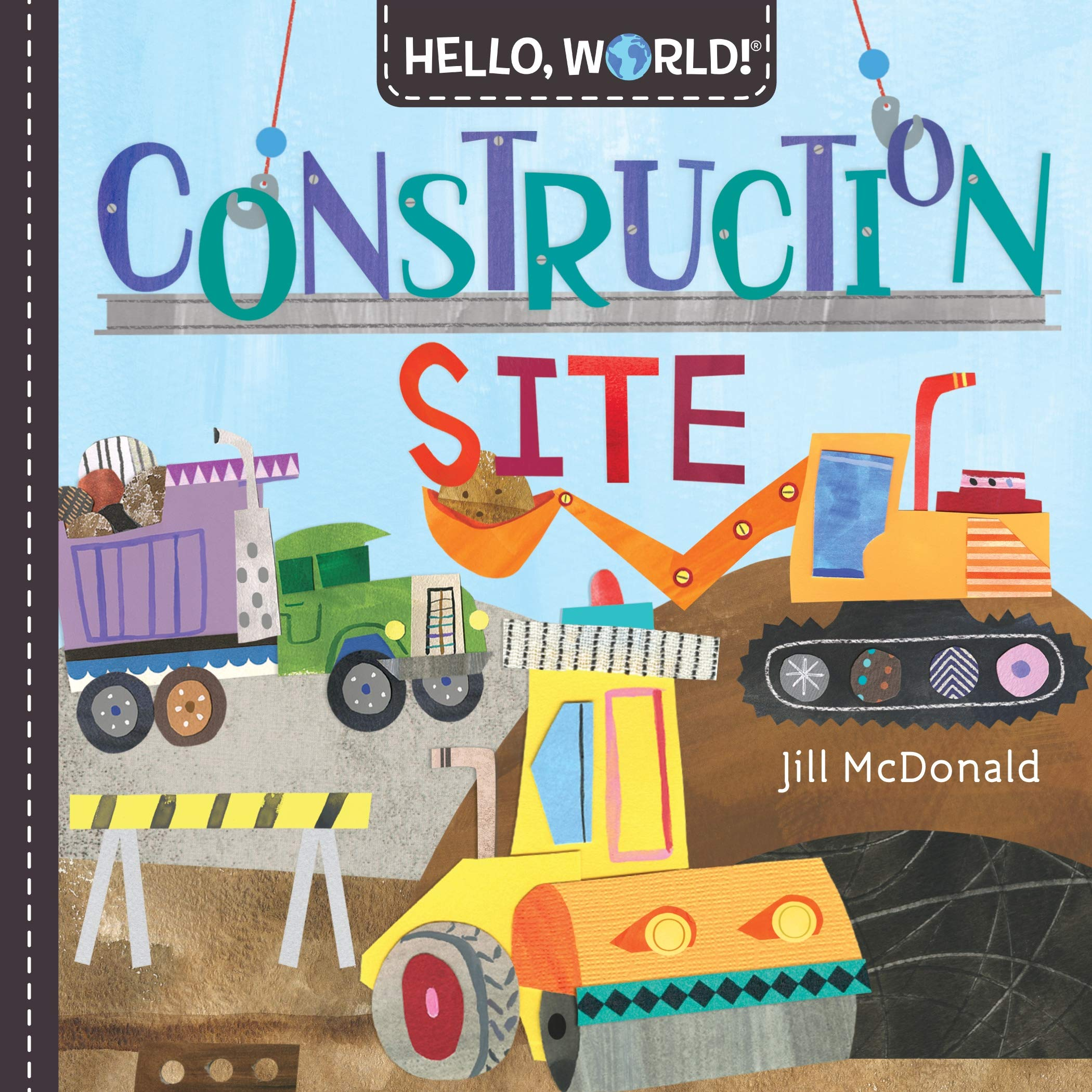 HELLO, WORLD! Construction Site & Rainforest Animals – Book Showcase
