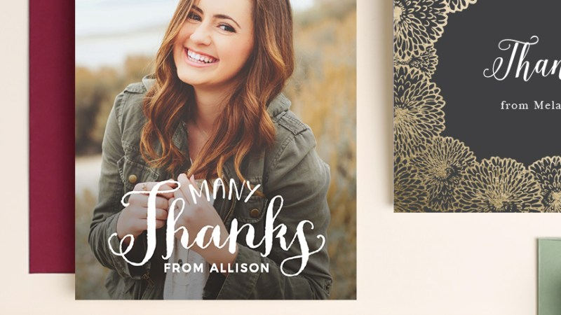 "Have You Sent a ""Thank You"" Card Lately?"