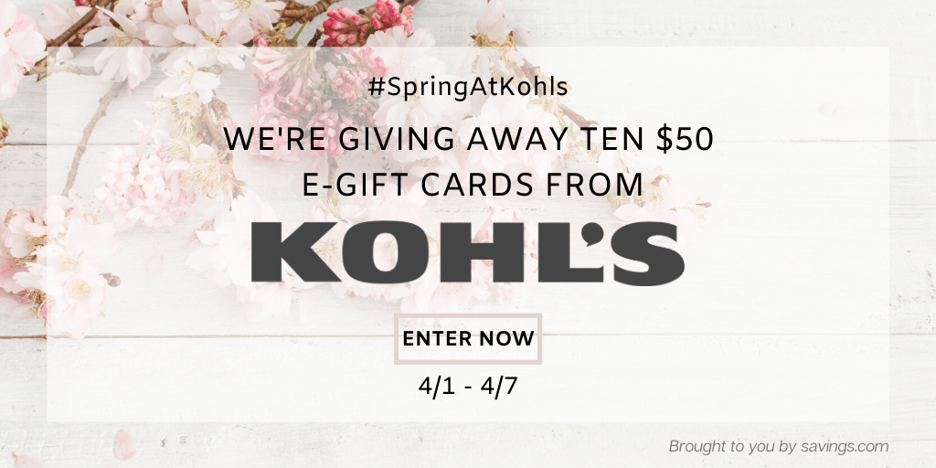 Spring At Kohls Giveaway!