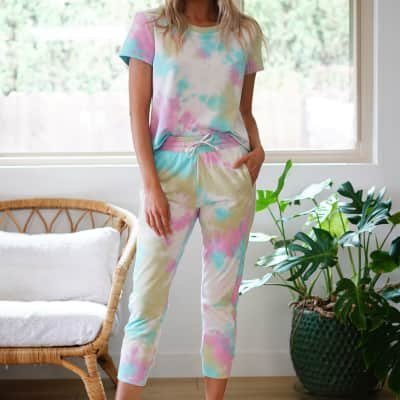 Soft & Comfy Tie Dye Lounge Set!