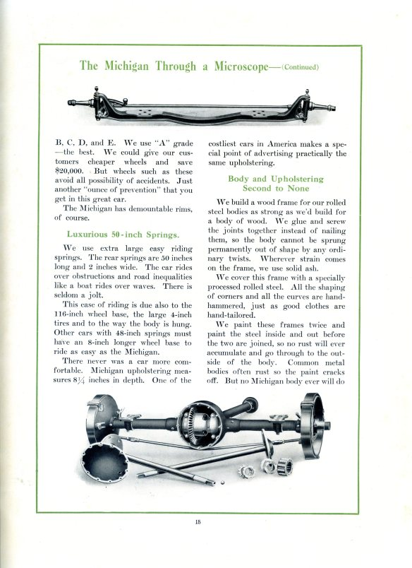 Michigan Autos 1912 pg15 axle Diff