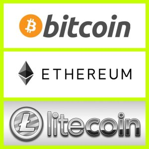 Bitcoin, Litecoin, BCH, Ethereum Accepted