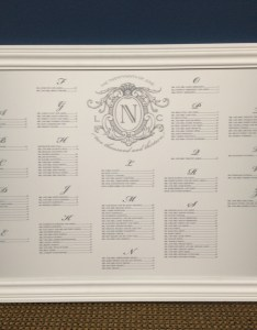 Where can  get my wedding seating chart designed and printed signarama troy also rh michigansignshops