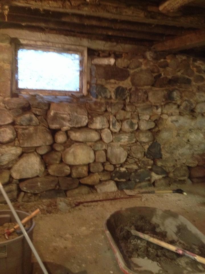 Stone Foundation Repairbarn Foundationstone Wall Restoration