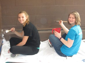 Maddie Faust & Hannah Cunningham