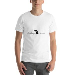 Michigan Travelist unisex t-shirt.