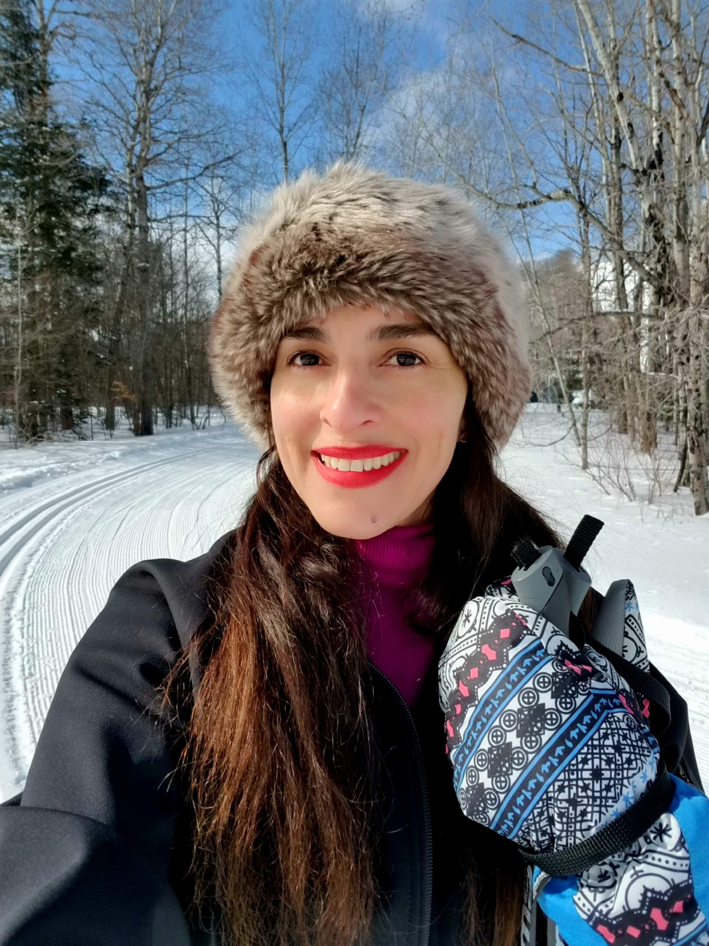 cross-country skiing in Michigan