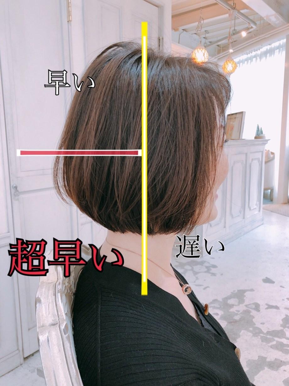 髪の毛 伸びる スピード