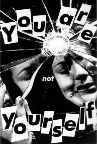 Barbara Kruger - You Are Not Yourself (1984) (arthistoryarchive.com)
