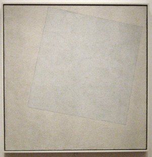 Kazimir Malevich - White on White (1917-18)