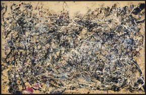 Jackson Pollock - Number 1 (1948) (jackson-pollock.org)