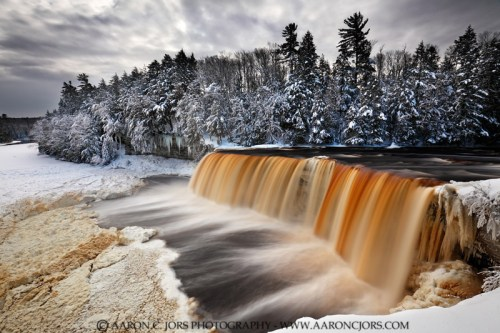 Tahquamenon Falls Michigan Winter Wallpaper Michigan Michigan In Pictures