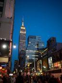 Empire State Building le soir