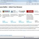 Nouveau changement pour Windows 7 et son/ses navigateur(s) avec le Browser Ballot Screen