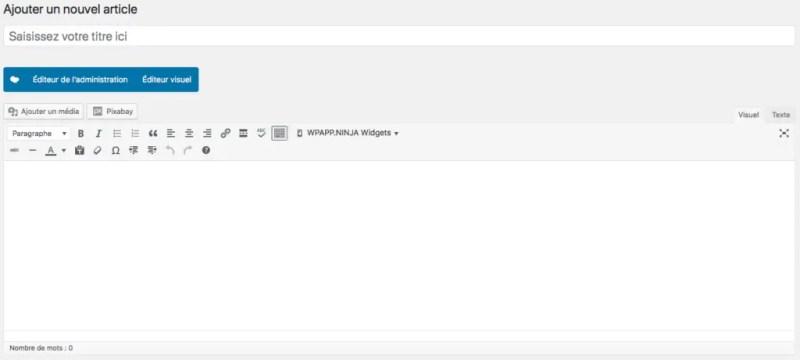 TinyMCE WordPress