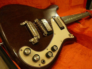 1963 Epiphone Guitar - this is pretty much what the first Guitar that I ever bought looked like.