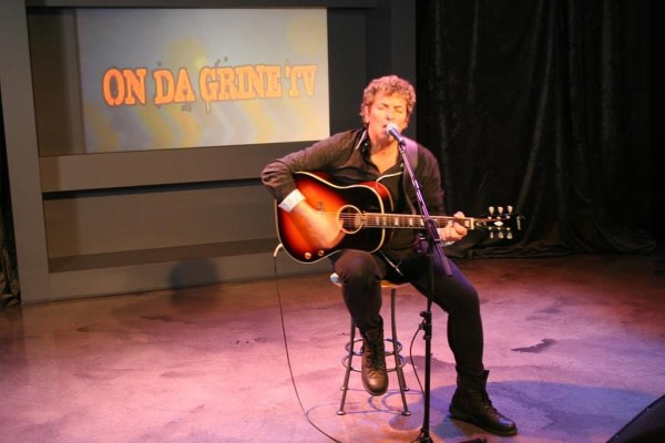 Playing Solo - on 'Da Grine' which is on the Shaw On Demand Network.