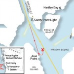 Queen of the North Ferry Route
