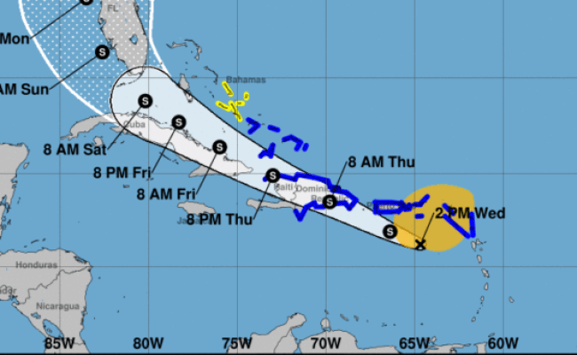 Potential Tropical Storm Isaias Could Make Landfall In