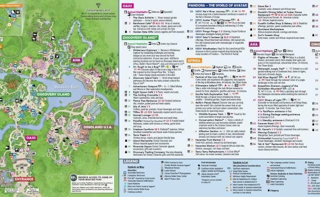 Animal Kingdom Itinerary Mickey Chatter