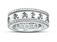Mickey Mouse Sterling Silver Ring | Mickey Fix