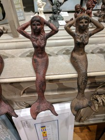 mermaids hanging out on the mantle