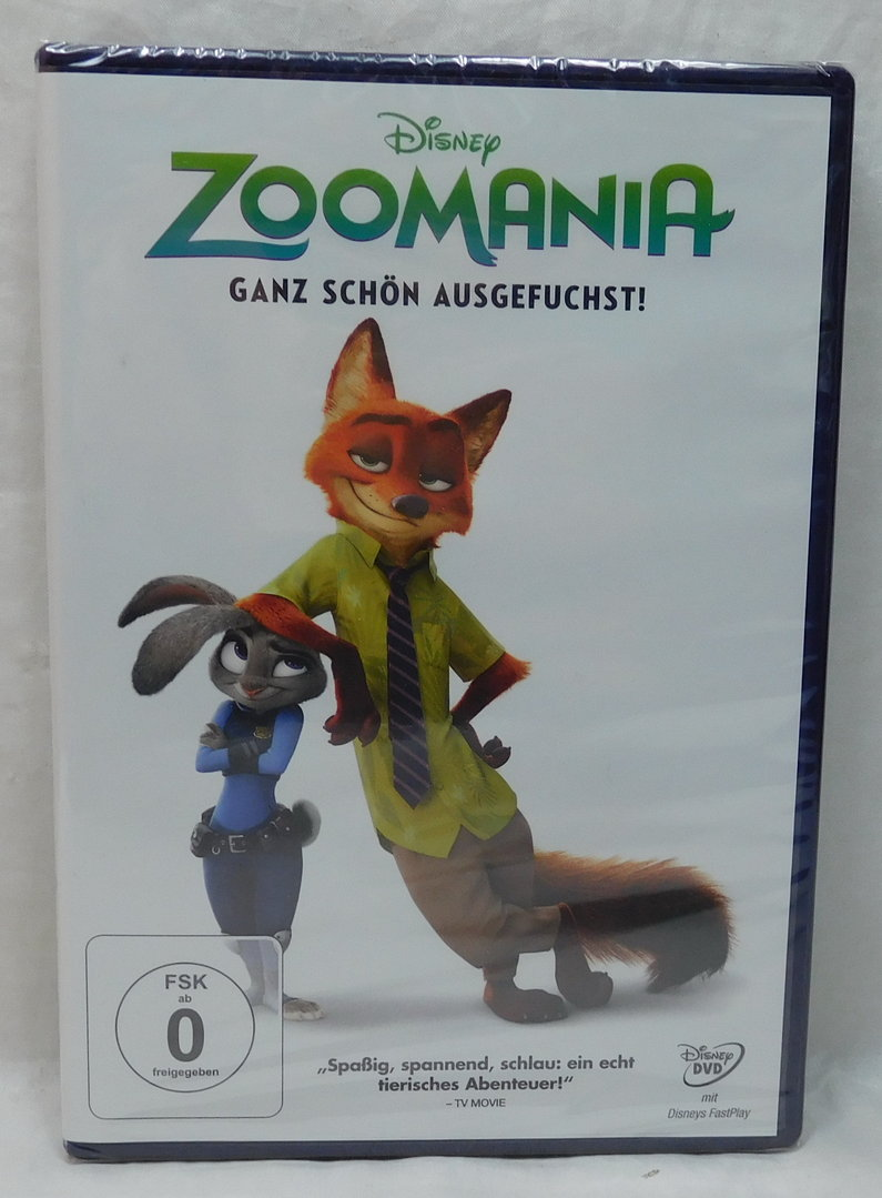 Zoomania Bettwäsche Original Disney Dvd zoomania - Disney Shop Store In ...