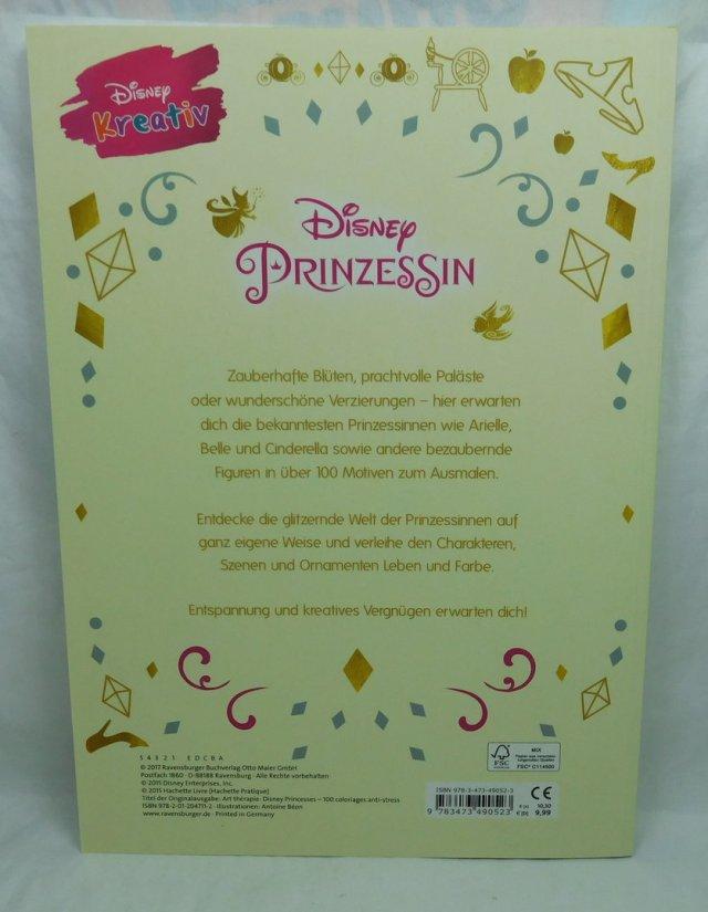 Disney Prinzessin - 29 Motive zum Ausmalen und Entspannen