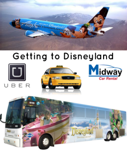 getting to disneyland