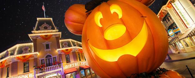 disneyland pumpkin main street usa