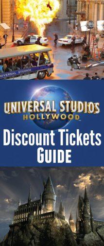 Universal Studios Hollywood Tickets 2018