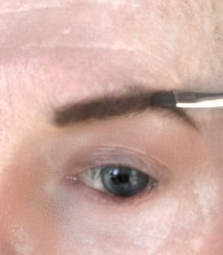 crossdresser makeup brow definition