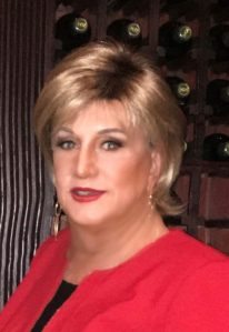 Crossdresser in red