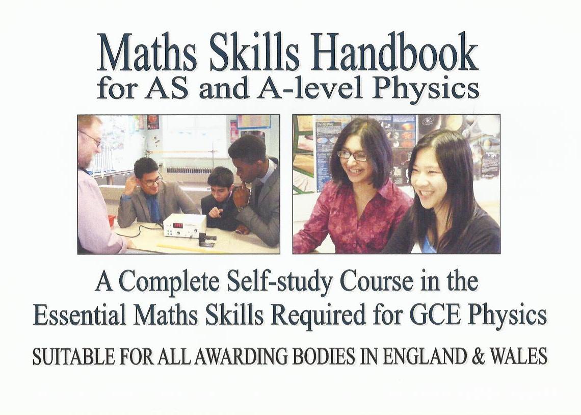 Maths Skills Handbook cover ISBN 9780956470072