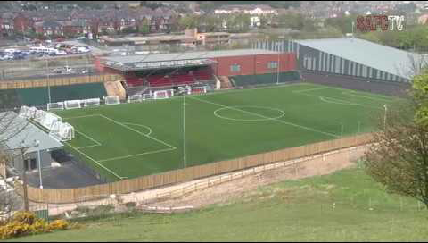 Image result for scarborough athletic flamingo land stadium