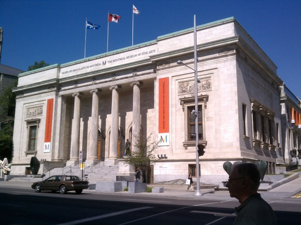 Fine Arts Museum Montreal Interior