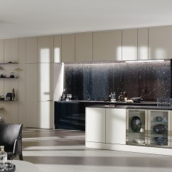 Kitchen Displays Islands With Granite Top Classic Modern Mick Ricereto Interior Product Siematic Agate Grey Gloss Italian Townhouse Concept