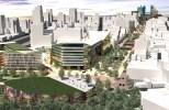 Main boulevard. Mexico City master plan.