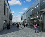 New dockside media lanes