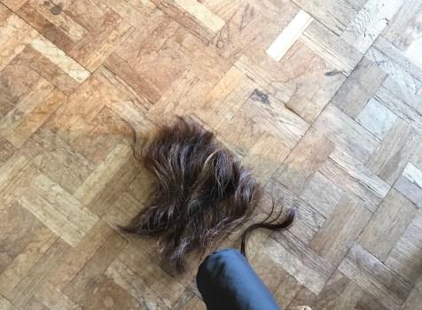 超ロングヘアーの人が20㎝断髪するとどうなるか~髪切った日記~