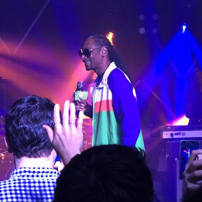 Picture: Snoop Dogg at Ripple XRP Event